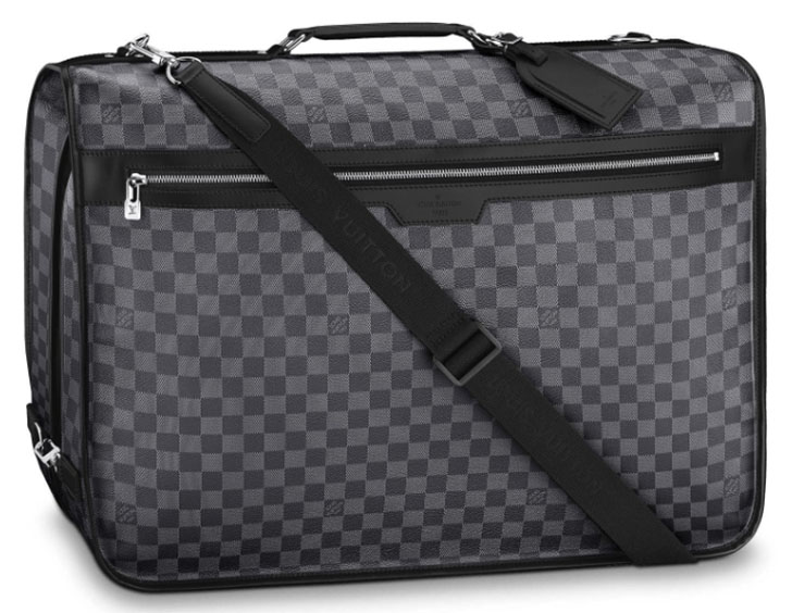 Louis Vuitton Garment Bag 3 Hangers: US$3,550.
