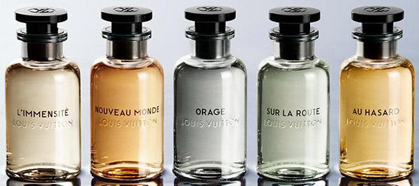 Louis Vuitton Perfumes: The Collection.