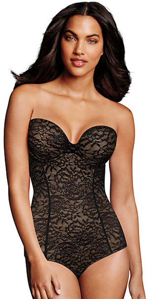 Maidenform Sexy Lace Firm Control Convertible Bodybriefer: US$55.30.