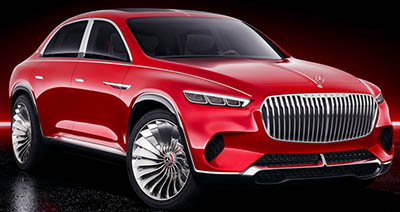 Vision Mercedes-Maybach Ultimate Luxury (2018-).