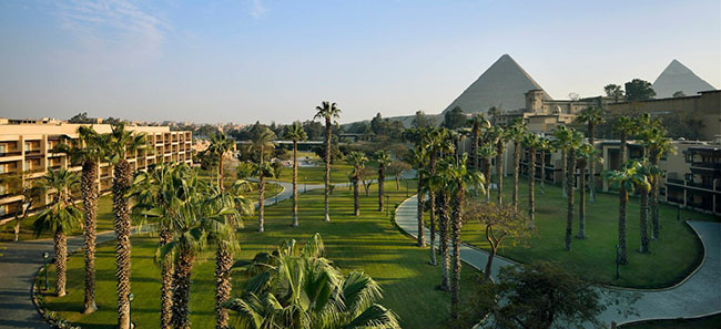 Marriott Mena House, 6 Pyramids Road, Giza, Cairo, 12556 Egypt.