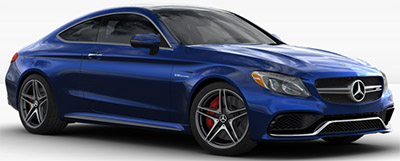 2018 Mercedes-Benz AMG C 63 S Coupe.
