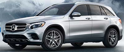 Mercedes-Benz 2018 GLC SUV.