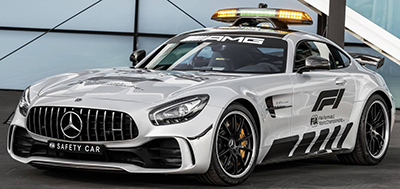 Mercedes-AMG GT R Safety Car.