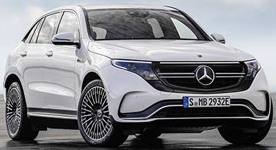 Mercedes-Benz EQC SUV Electric.