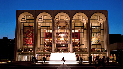 Metropolitan Opera, 30 Lincoln Center Plaza, New York, NY 10023, U.S.A.