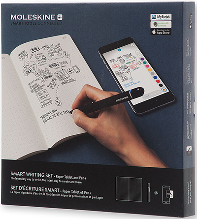Moleskine Smart Writing Set: US$199.