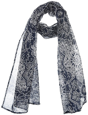 Newman Women's cotton scarf: US$39.