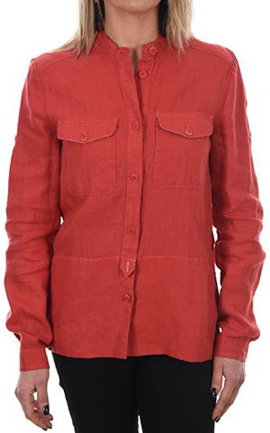 Newman Women's linen shirt: US$99.