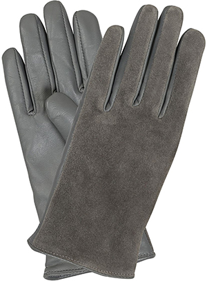 Oliver Bonas Suede Leather Mix Gloves: US$57.
