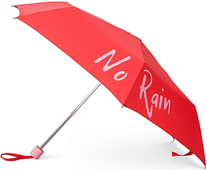 Oliver Bonas No Rain No Rainbow Umbrella: US$26.50.