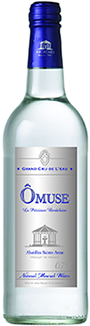 Ô Muse mineral water.