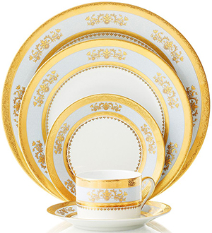 Philippe Deshoulieres Orsay dinnerware.