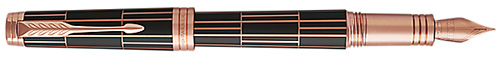 Parker Premier Luxury Brown Fountain Pen Fine Nib: US$630.