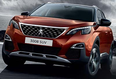 Peugeot 3008 SUV - Winner of over 65 International awards.
