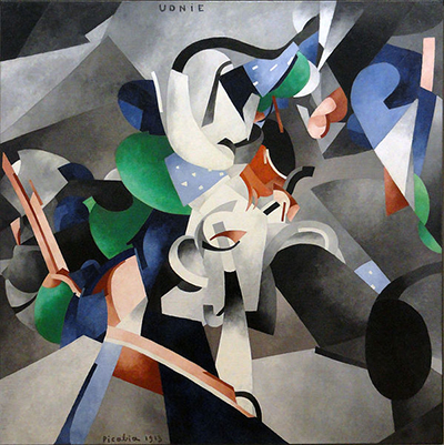 Udnie (Young American Girl, The Dance) (1913) by Francis Picabia.