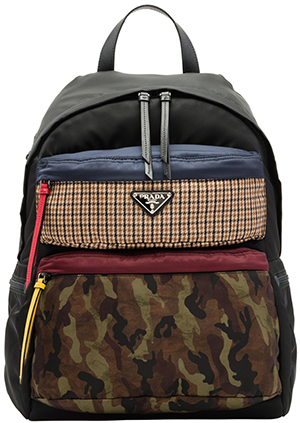 Prada Printed technical fabric backpack: US$1,550.