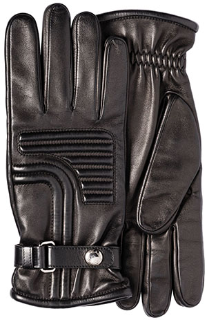 Prada men's Leather Gloves: US$460.