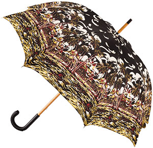 Prada Printed nylon umbrella: US$495.