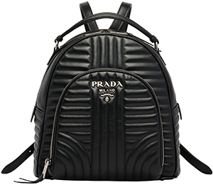Prada Diagramme leather backpack: US$1,990.
