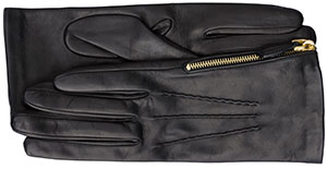 Prada women's Nappa leather gloves: US$380.