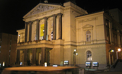 Prague State Opera, Wilsonova 4, Praha 1, Czech Republic. Photo by: Andreas Praefcke.