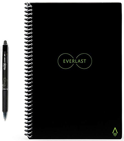 Rocketbook Everlast Reusable Smart Notebook, Executive Size: US$32.