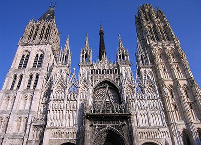 Rouen Cathedral, 3 rue Saint-Romain, 76000 Rouen, Normandy.