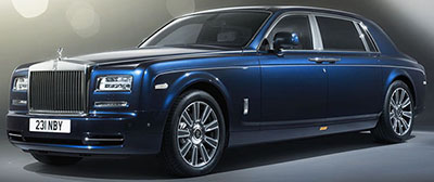 Rolls-Royce Phantom Limelight: US$650,000.
