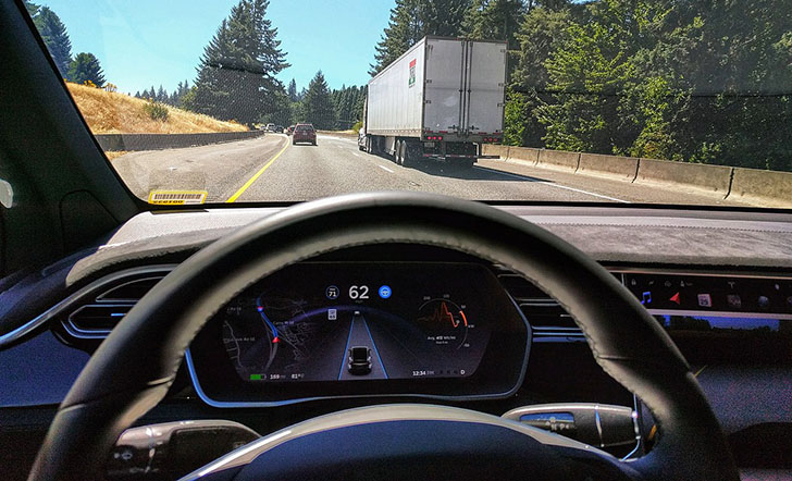 Tesla Autopilot system is considered to be an SAE level 2 system.