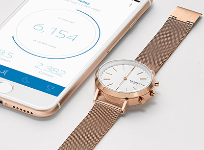 Skagen Hagen Connected Hybrid Smartwatches.
