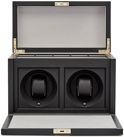 Smythson of Bond Street Grosvenor Rotary Watch Box: £1,497.