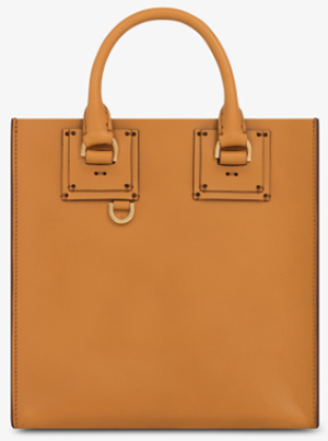 Sophie Hulme Dark Butter Albion Square Tote: €805.