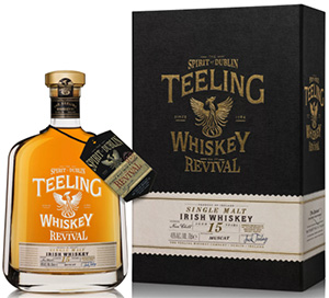 Teeling Whiskey The Revival 15 Year Old Single Malt.