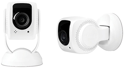 Tend Secure Lynx 1080p Wi-Fi Indoor Security Camera 2-Pack, Facial Recognition: US$106.85.
