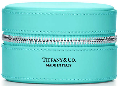 Tiffany & Co. Round Zip Jewelry Case: US$205.