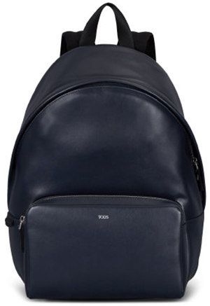 Tod's men's blue Backpack in Leather: US$1265.