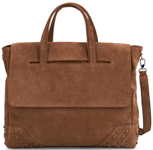 Tod'S Envelope Bag medium in suede: US$2165.