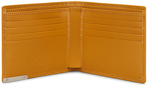 Tod's men's Leather Wallet: US$325.