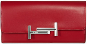 Tod's women's Leather Wallet: US$850.