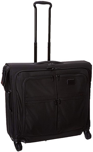 Tumi Alpha 2 4 Wheeled Extended Trip Garment Bag, Black, One Size: US$1,175.