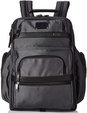 Tumi Alpha T-Pass Business Class Brief Pack Laptop Backpack, Pewter, One Size: US$495.