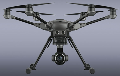 Yuneec Typhoon H drone.