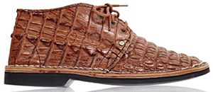 Brother Vellies South African Hornback Crocodile: US$1,450.