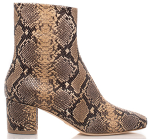 Brother Vellies Python Kaya Boot: US$650.