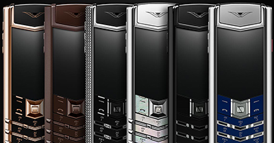 Vertu Signature Collection.