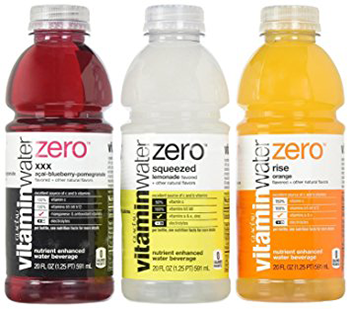 Glaceau VitaminWater Zero Variety Pack.