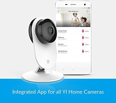 YI 1080p Home Camera, Indoor Wireless IP Security Surveillance System with Night Vision for Home / Office / Baby / Pet Monitor-Cloud Service Available: US$28.99.