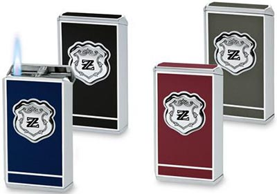 Zino Platinum Jet Flame Lighters: US$160.