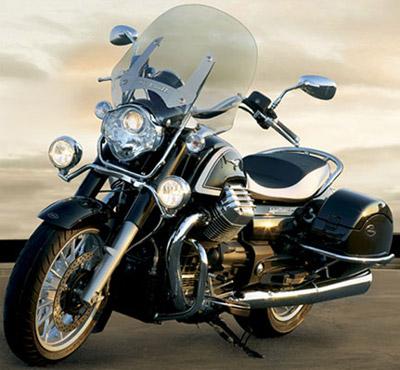 Moto Guzzi California 1400 Touring motorcycle.